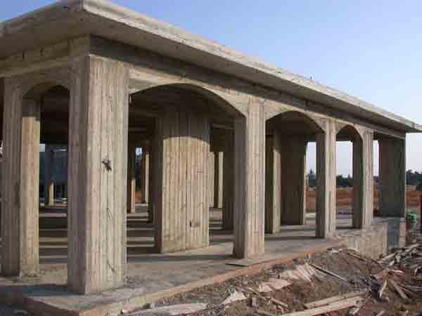 Custom Property In Cyprus Concrete Skeleton